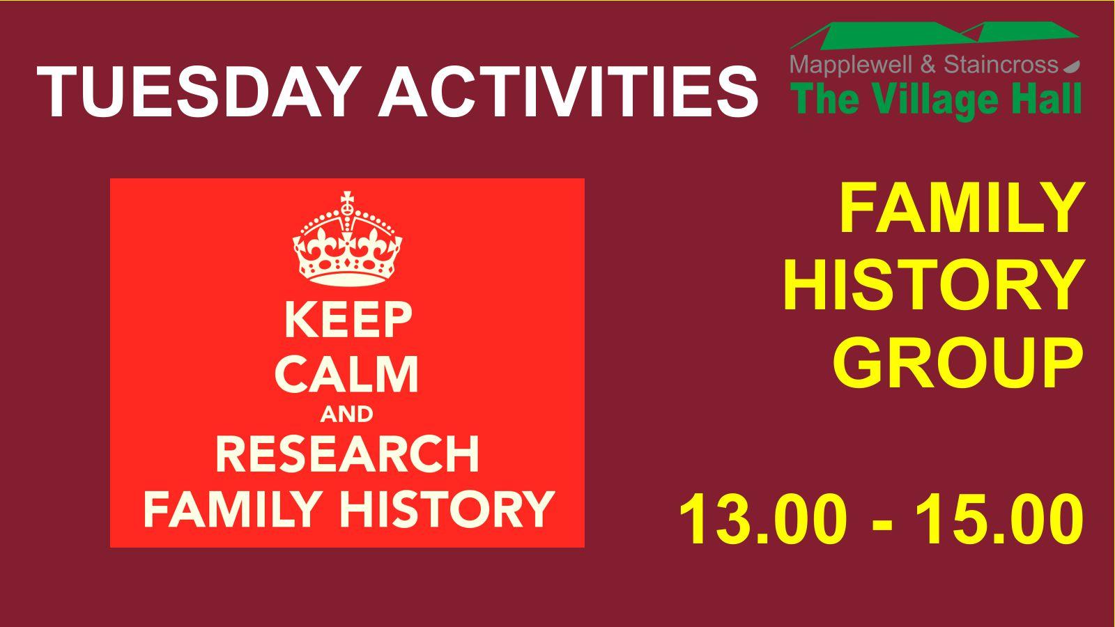 (C) Nick Hibberd - Family History Group