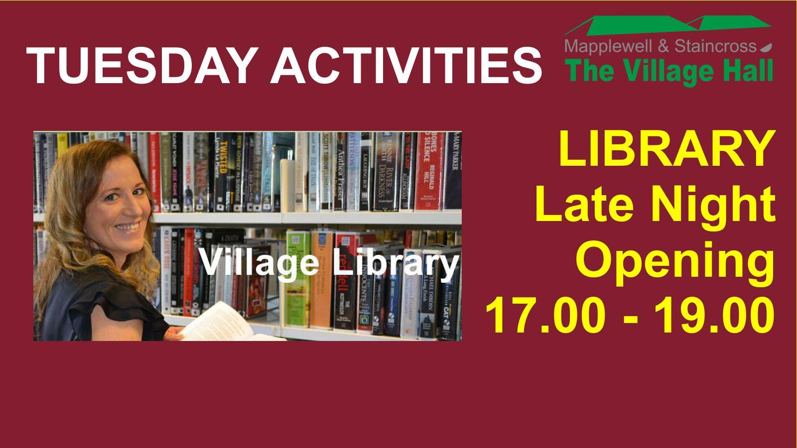(C) Nick Hibberd - Library