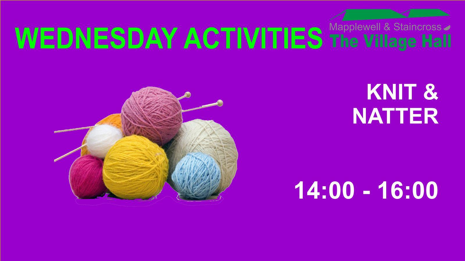 (C) Nick Hibberd - Knit & Natter